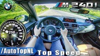 2018 BMW 2 Series M240i | AUTOBAHN POV TOP SPEED by AutoTopNL