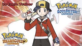 Pokemon HeartGold/SoulSilver - Battle! Kanto Trainer Music (HQ)
