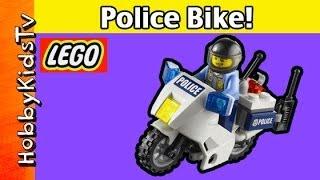 LEGO City Police High Speed Chase! Bike Build 60007 HobbyKidsTV