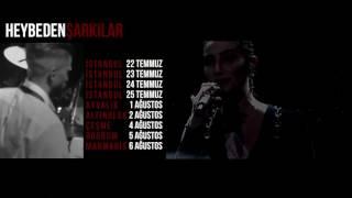Sıla - Sevgili Kaybım (Heybeden Şarkılar Yaz Turnesi Tanıtımı - Solfej Organizasyon)
