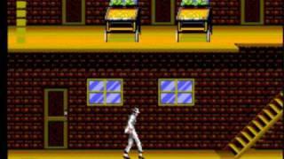 Michael Jackson's Moonwalker (smooth criminal) - Sega Master System game
