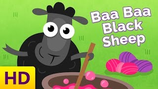 Baa Baa Black Sheep - Children's Song with Lyrics - Nursery Rhymes & Songs