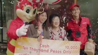 Pa 10,000 ng Jollibee Delivery 8  7000 Week 1 Winners
