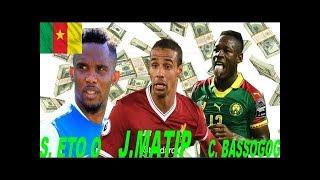 Top 8 Footballeurs les plus payés du Cameroun : Etoo est déclassé.