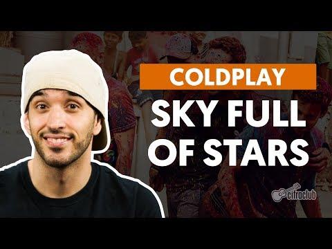 Sky Full Of Stars - Coldplay (aula de violão completa)