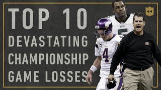 Top 10 Most Devastating Championship Losses of All-Time   Vault Stories