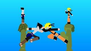 Naruto Vs Sasuke |Stick fight