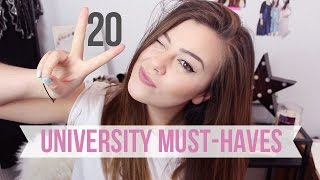 20 THINGS YOU NEED TO GET FOR UNIVERSITY   AD