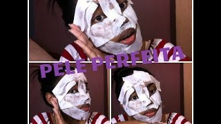 A melhor mascara facial CASEIRA/contra rugas,cravos e poros abertos - BY Carol Beckham