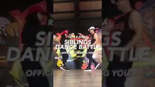 Siblings Dance Battle | Ranz and Niana