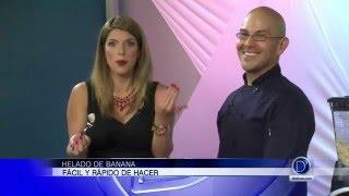 Fácil y rápido helado de banana por Erick Garza