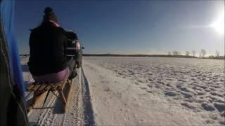 ㋡ Zima 2017 ☆ Zimowe szaleństwo, jazda bokiem i urodzinowy kulig ☆ Go Pro Hero  ㋡ MafiaWielkopolska