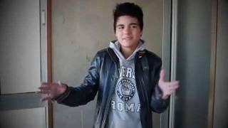 Abraham Mateo (13 años) - En una prueba como actor en inglés .wmv