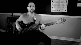 Machine Head : Message in a bottle bass cover