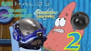 Bad Halo 5 Helmets Portrayed By Spongebob 2