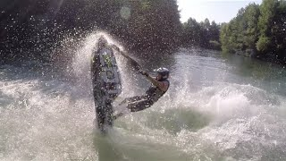 Jet ski à bras Freestyle - Nicolas Denille & Drone Carbone