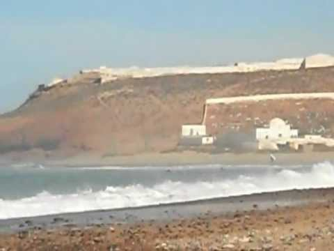 Sidi Ifni dalla spiaggia