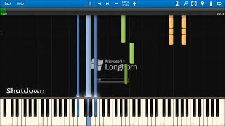WINDOWS LONGHORN SOUNDS IN SYNTHESIA
