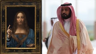 Saudi prince purchased a rare Leonardo da Vinci painting