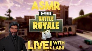 ASMR Gaming: Season Four with Labs! (Fortnite BR)