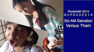 Audrey & Kate Play ROCKSMITH #160 - Six AM Salvation - Versus Them ロックスミス