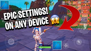 How to get epic graphics fortnite monile videos / InfiniTube