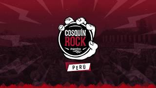 Cosquín Rock Perú - Line up