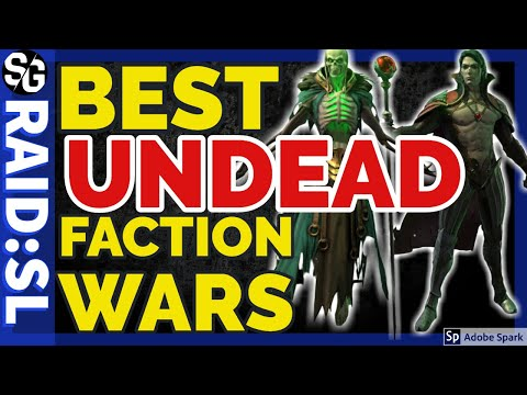 [RAID SHADOW LEGENDS] UNDEAD TOP FW CHAMPS UNDEAD TOP FACTION WAR CHAMPIONS