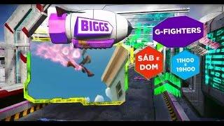 Biggs - G-Fighters (sábados e domingos 11:00 e 19:00)