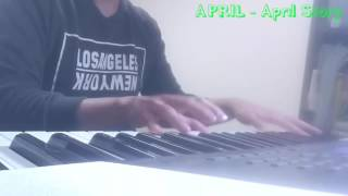 APRIL (에이프릴) - April Story (봄의 나라 이야기) Piano Cover