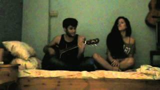 Bon Jovi - Till We Ain't Strangers Anymore (IaN Cover) Ft Natalia Corvington