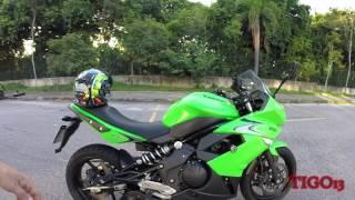 Tigo13 - Escapamento Arashi Taylormade Full Ninja650R