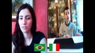 Celeste (Cover Laura Pausini) singing by Natália and Giuseppe