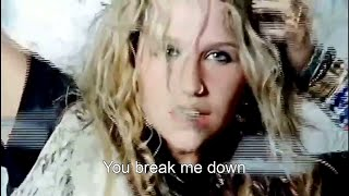 [HD] Ke$ha - Tik Tok MV [Lyrics On Screen]
