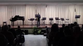 Audición de Saxofón 1º ciclo Rubén Rochas