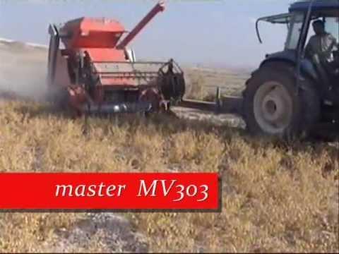 NOHUT BİÇME MAKİNASI (master MV303 Biçen ve Saman Yapan Hasat Harman Makinesi)