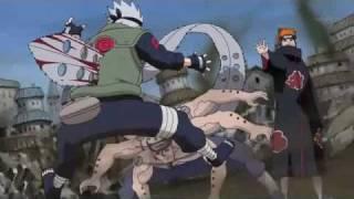 Breathe - Naruto Shippuden AMV Kakashi Vs Pain