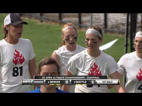 Video Thumbnail: 2016 U.S. Open Club Championships, Women's Semifinal: Denver Molly Brown vs. Seattle Riot