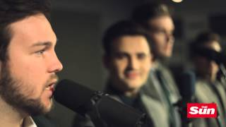Collabro perform Frozen's 'Let it go' for The Sun's Biz Sessions