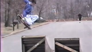 old VHS skateboard footage late 80s