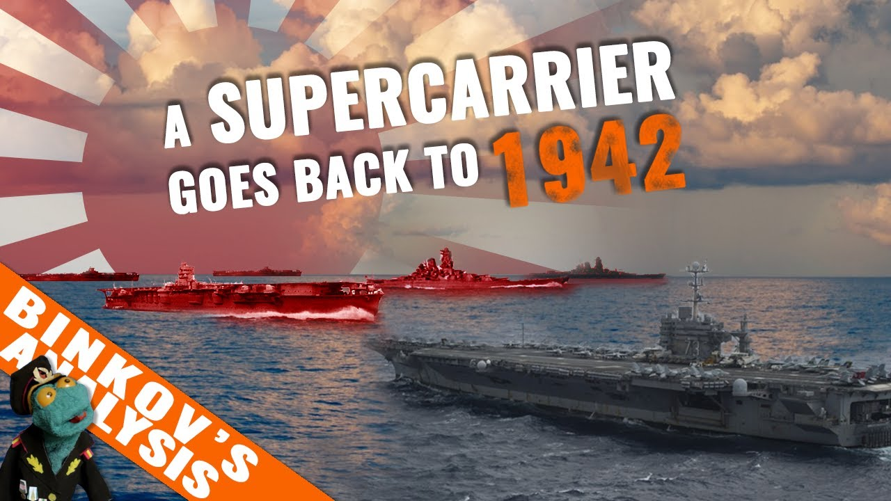 Could an US Supercarrier Defeat the Whole Japanese WWII Navy?