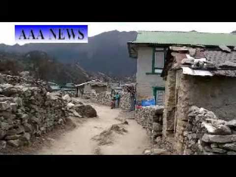 AAA NEWS  Khumjung View Vol.3 クムジュンの風景