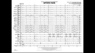 Uptown Funk arranged by Michael Sweeney