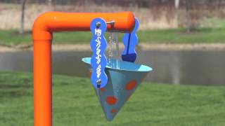 My Splash Pad Single Bucket Dump water play features