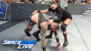 The Viper unleashes an assault that leaves Dillinger as The Painful 9: SmackDown LIVE, Oct. 2, 2018