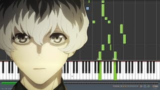 Asphyxia - Tokyo Ghoul:re [トーキョーグール:re] Opening (Piano Synthesia)