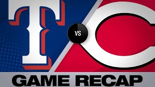 Odor's grand slam leads Rangers to win   Rangers-Reds Game Highlights 6/14/19