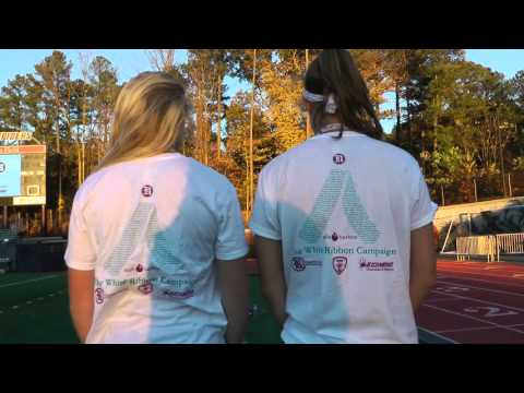 RCSGA and University of Richmond hosted a 5k White Ribbon Run on Saturday, Nov. 14, 2015