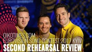 oikotimes.com: Latvia's Second Rehearsal Review Eurovsiion 2017