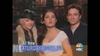 Christina Aguilera Saturday Night Live 2003 Commerical